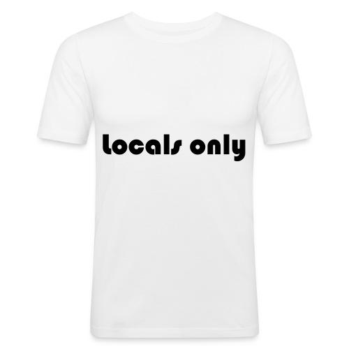 locals only - Männer Slim Fit T-Shirt