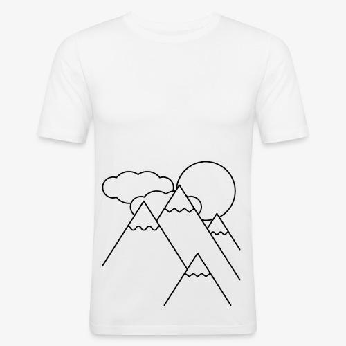 Bergen bij Dag - slim fit T-shirt