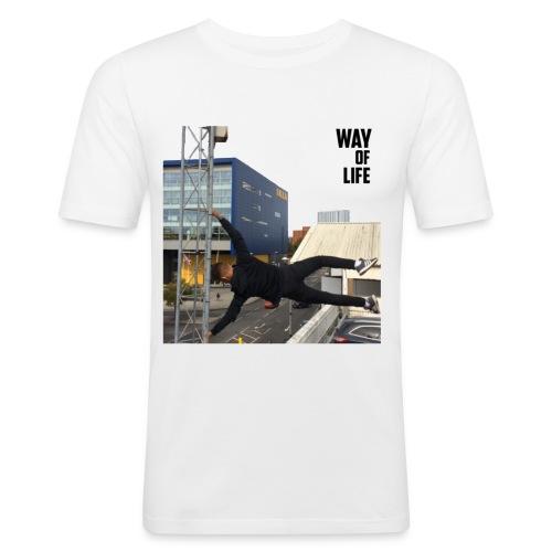 Way of life - Men's Slim Fit T-Shirt