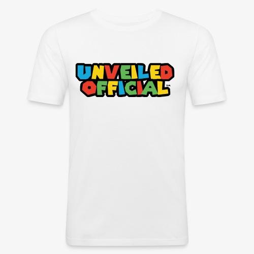 Unveiled Video Games Logo - Men's Slim Fit T-Shirt