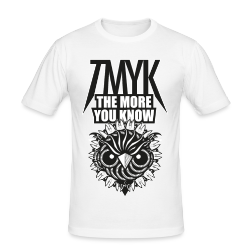 The More You Know Graphic Tee - Men's Slim Fit T-Shirt
