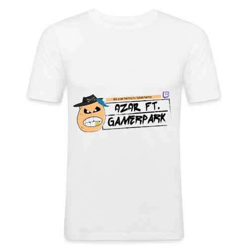 LIMITED EDITION Azar ft. GamerPark - T-shirt près du corps Homme