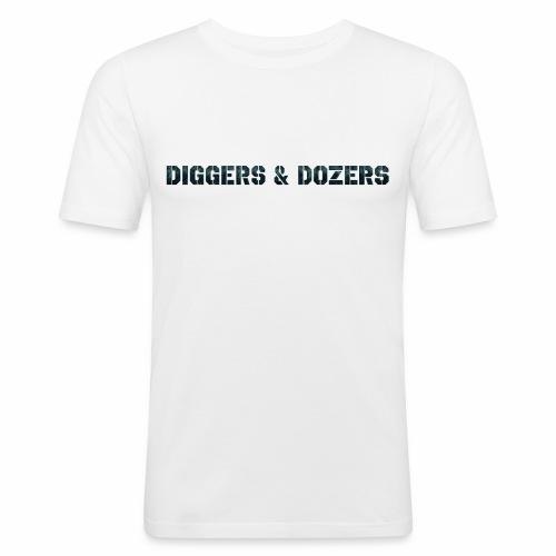 Diggers & Dozers - Men's Slim Fit T-Shirt