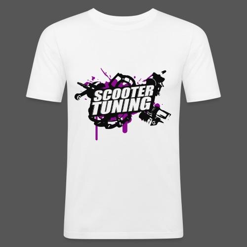 Scootertuning - b/p - Männer Slim Fit T-Shirt