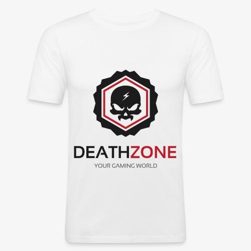DeathZone Logo Avatar - Obcisła koszulka męska