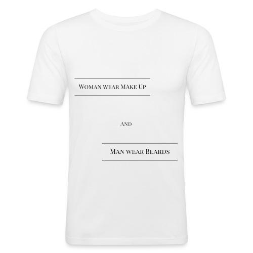 T-Shirt für Mann und Frau - Männer Slim Fit T-Shirt