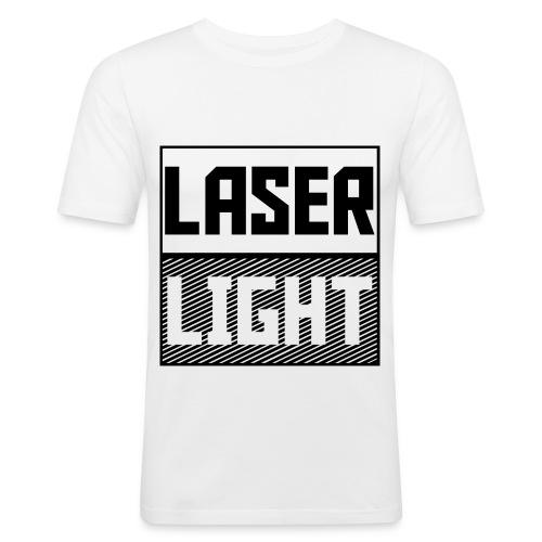 laser light design - Men's Slim Fit T-Shirt