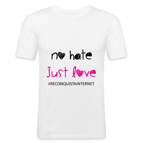 Reconquista Internet Emblem2 - Männer Slim Fit T-Shirt