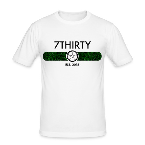 7Thirty Est. 2016 Black - Men's Slim Fit T-Shirt