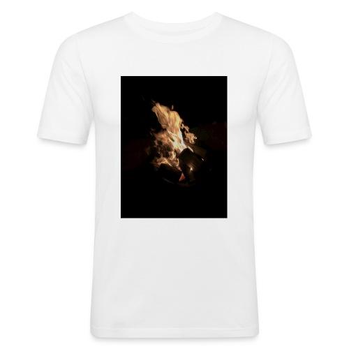 Bonfire Print - Men's Slim Fit T-Shirt