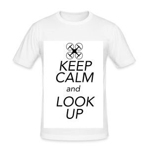 Keep Calm and Look Up - slim fit T-shirt