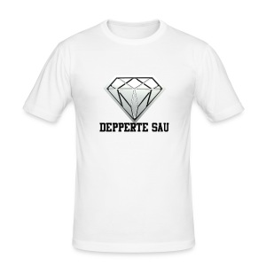 Depperte Sau Shop - Männer Slim Fit T-Shirt