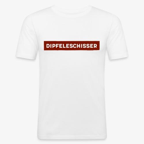 Dipfeleschisser - Männer Slim Fit T-Shirt