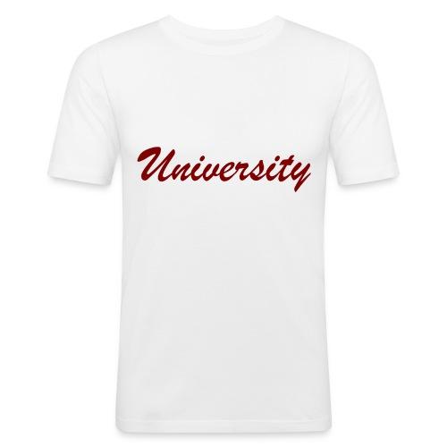 University - Männer Slim Fit T-Shirt