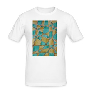 Watercolour Art painting - Men's Slim Fit T-Shirt