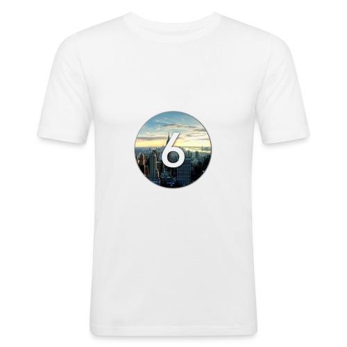 6 city - T-shirt près du corps Homme