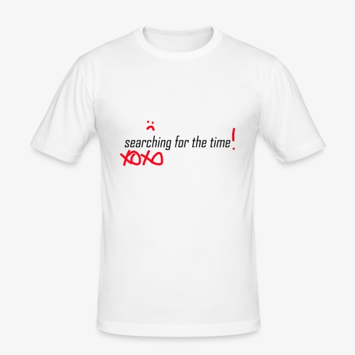 searching for the XOXO - Männer Slim Fit T-Shirt