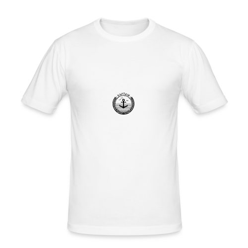 Kaptain - Anchor - Männer Slim Fit T-Shirt
