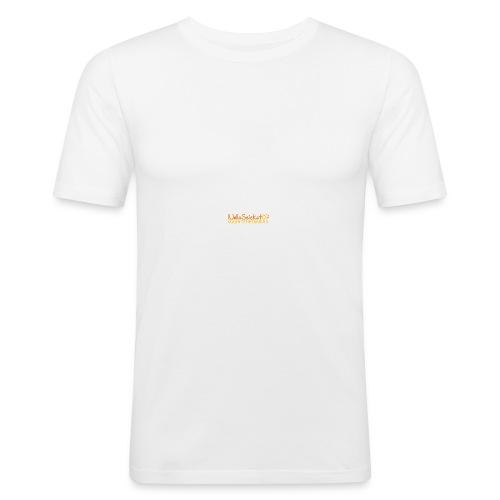 07-oulun-steiner-koulu-logo-merkki - Miesten tyköistuva t-paita