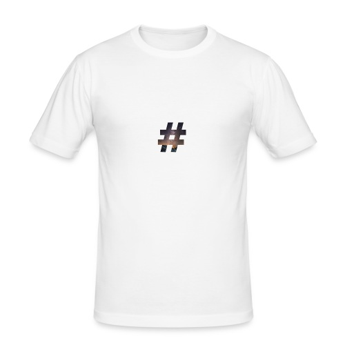 plainhashtag - Männer Slim Fit T-Shirt
