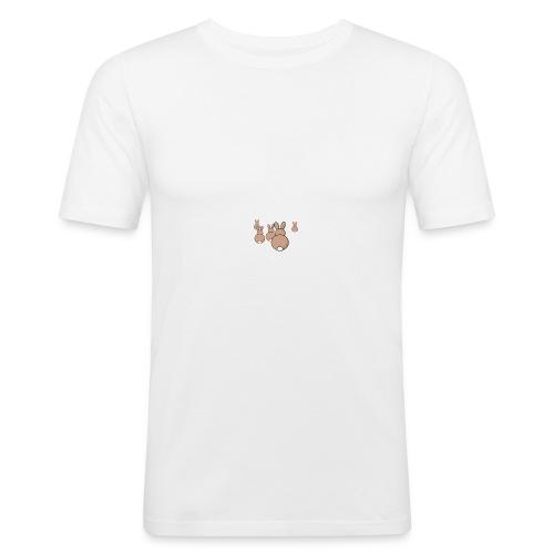 Kaninchen - Männer Slim Fit T-Shirt