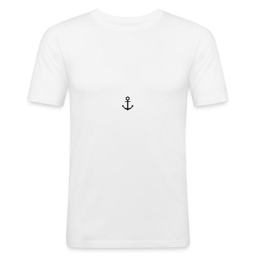 anker - Slim Fit T-skjorte for menn