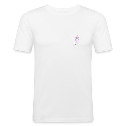 YOGHURTH - Maglietta aderente da uomo