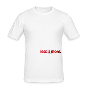 Lessismore Spring Collection - Men's Slim Fit T-Shirt