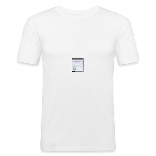 chap1 - Männer Slim Fit T-Shirt