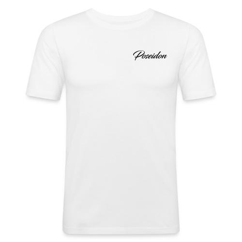 Poseidon Simple Logo - Men's Slim Fit T-Shirt