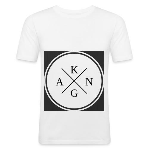 Konga Design - Männer Slim Fit T-Shirt
