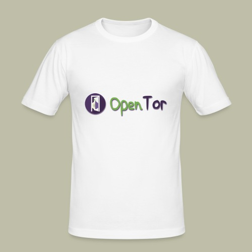 OpenTor Badge - Men's Slim Fit T-Shirt