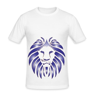 Lion Hunter - Men's Slim Fit T-Shirt