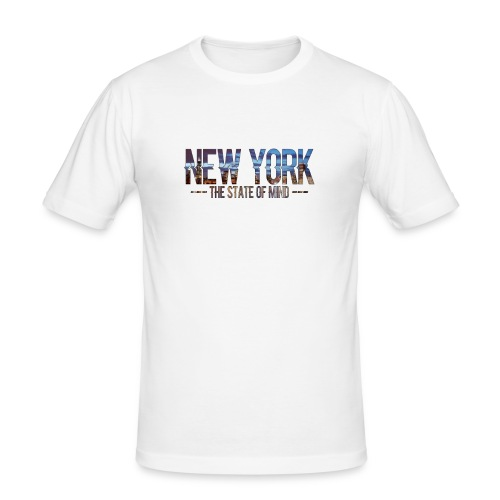New York - The state of Mind 2 - Männer Slim Fit T-Shirt