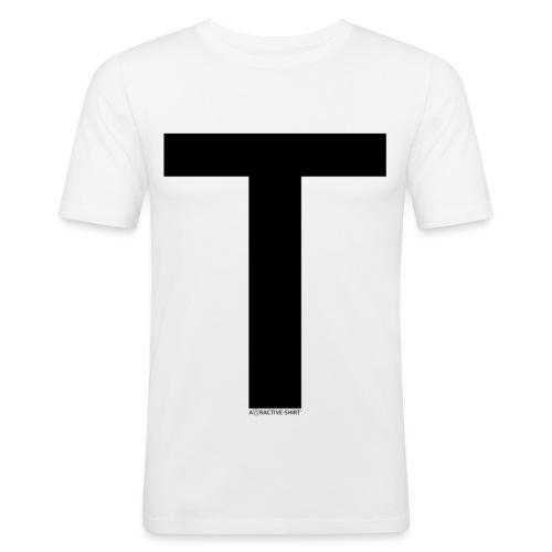 Attractive-Shirt - Männer Slim Fit T-Shirt