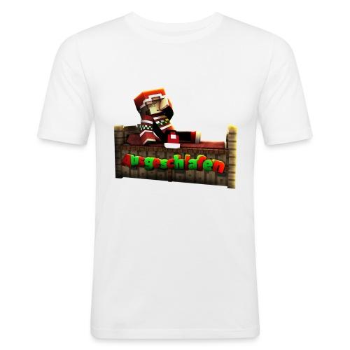 #Ausgeschlafen Weihnachts-Hoddie - Männer Slim Fit T-Shirt