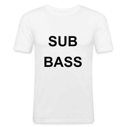 sub bass - slim fit T-shirt