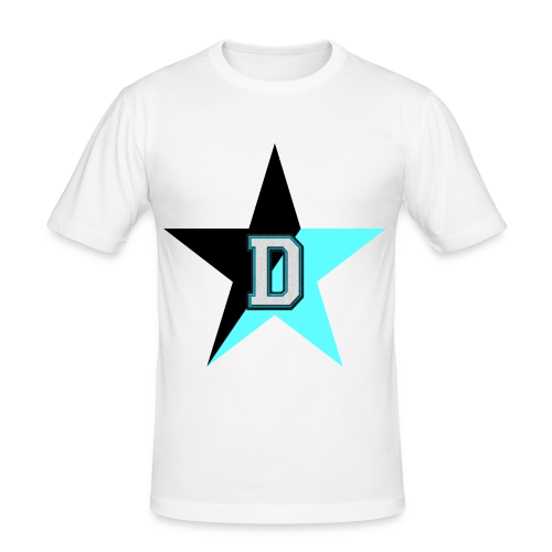 NoBeatGaming Logo - Men's Slim Fit T-Shirt