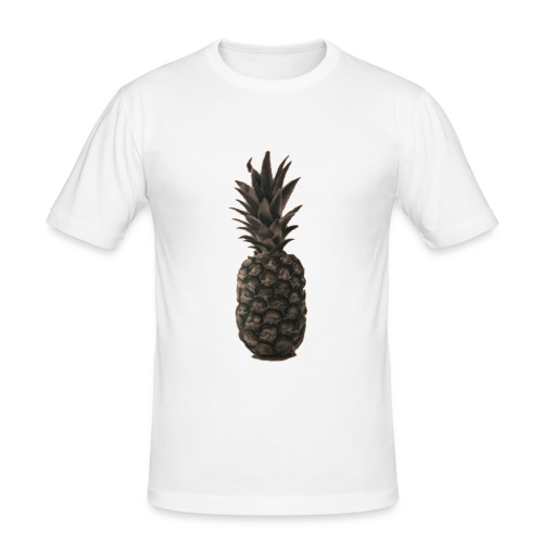 Ananas - Männer Slim Fit T-Shirt