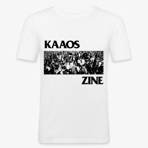 Kaaos Flag - Miesten tyköistuva t-paita