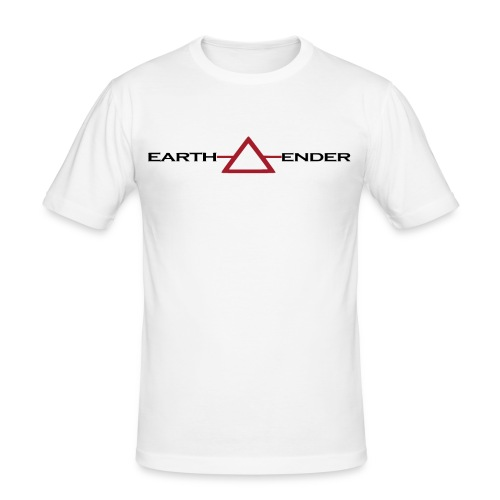 Earthender Pyramid - Männer Slim Fit T-Shirt
