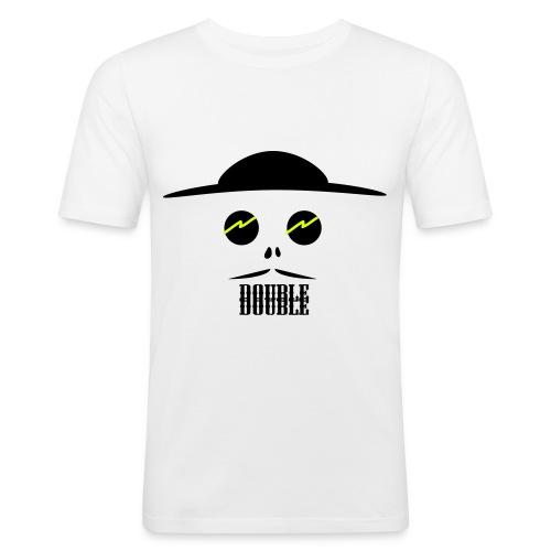 Double7 - Männer Slim Fit T-Shirt