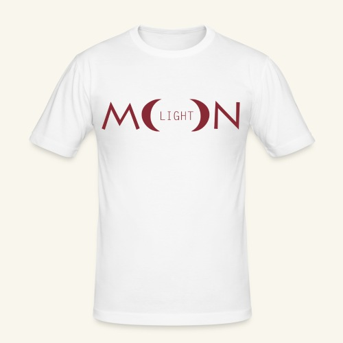 MoonLight bourdeaux - Maglietta aderente da uomo