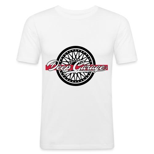 Deep Garage Label - Männer Slim Fit T-Shirt