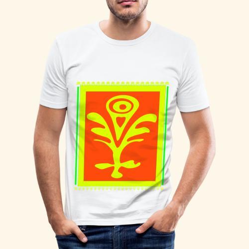 Neon Design - Männer Slim Fit T-Shirt
