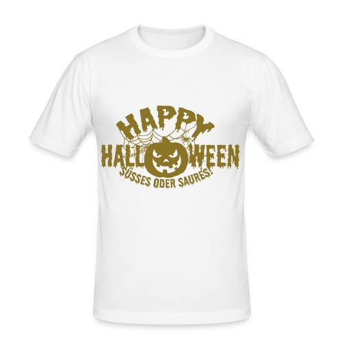 1. Halloween XL - Männer Slim Fit T-Shirt