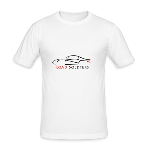 Logo Negro - Camiseta ajustada hombre
