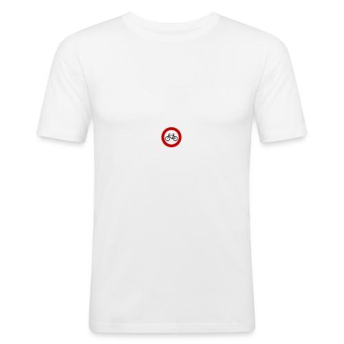 Fahrrad - Männer Slim Fit T-Shirt