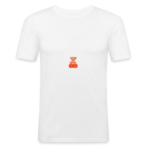 Kersen Zijn Kersen - slim fit T-shirt