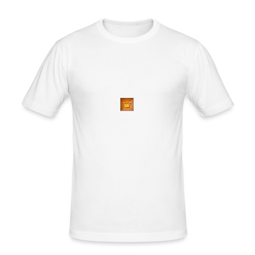 KingKeyjk Logo - Männer Slim Fit T-Shirt